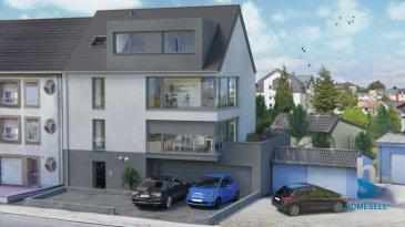 Homesell vous présente à Dudelange une maison bi-familiale à proximité du centre ville qui comprend au premier étage :  un appartement d'une surface habitable de 80.65m2 avec 2 chambres à coucher, salle de bains, WC séparé, cuisine et living avec accès à une très grande terrasse de 18.66m2, cave privative de 5.26m², 1 garage et 1 emplacement extérieur et le plus de ce bien: un jardin privatif d'une surface de 30.89m2.  Prix: 484.965' ttc (TVA à 3%*)  (*Sous réserve d'acceptation par l'Administration de l'Enregistrement)  Pour plus de renseignements n'hésitez pas à nous contacter ! Tél.: 281122-1 ou par mail: info@homesell.lu  Ref agence :16