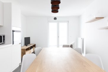 * English description below*  Je vous propose ce joli appartement à la location courte durée (minimum 6 mois).   Situé en plein centre-gare, au 1er étage, il est rénové avec goût, entièrement équipé et meublé.  Il comprends une cuisine ouverte sur le séjour, une chambre à coucher, une salle de douche avec WC et une grande terrasse.  •	Loyer : 1.800 Euros  •	Charges : 200 Euros (eau, chauffage, ordures ménagères, WiFi et bouquet TV)  •	Électricité et assurance habitation sont à souscrire  •	Caution : 3.600 Euros  •	Frais d'agence : 1 loyer + TVA   Loué jusqu'au 15/03/2019 mais je vous invite à me contacter car je dispose d'autres biens similaires à vous proposer !  Tél. +352 621 408 530  contact@stephaniegilmer.com    ----  I offer you this nice apartment for short term rental (minimum 6 months).  Located in the center-station, on the 1st floor, it is tastefully renovated, fully equipped and furnished. It includes a kitchen open to the living room, a bedroom, a shower room with WC and a large terrace. •	Monthly rent: 1,800 Euros •	Charges: 200 Euros (water, heating, garbage, WiFi and TV package) •	Electricity and home insurance are to be subscribed •	Deposit: 3.600 Euros •	Agency fees: 1 monthly rent + VAT  Rented until 15/03/2019 but I invite you to contact me because I have other similar properties to offer!  Phone : +352 621 408 530  contact@stephaniegilmer.com