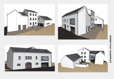 Projet avec autorisations pour 2 Appartements  2 Unités de 290 m²  A Steinheim/Echternach Ferme à rénover/démolir  Contacter Mr Kissel 691621235 Ref agence :4680076