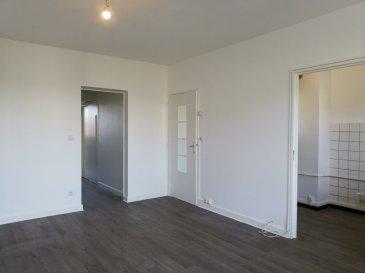 Bel appartement refait, situé dans un petit immeuble calme, composé de : une entrée avec placard intégré, un coin cuisine non équipée, un séjour avec un balcon attenant, un dégagement avec placard intégré, une salle de bains, un wc séparé et une chambre.    En annexes: une cave, un garage.