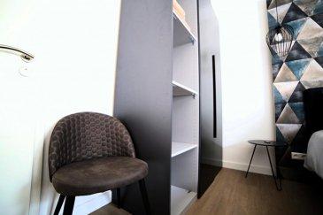 \'English below\'<br><br>Située à Merl, dans une agréable rue au calme( rue de la Toison d\'Or,)<br>proche de toute connexion, très belle chambre meublée par un designer. surface de 13 m².<br>Celle-ci se trouve dans une petite résidence de 7 chambres.<br>Elle se compose comme suit:<br><br>Lit double de 160 cm habillé de beau linge de lit en lin, oreillers, internet haut débit, TV écran plat, armoire, petit bureau.<br>Cuisine et salle de bain en colocation.<br><br>En plus d\'un lit très confortable, les appartements sont très biens équipés (il y a tout le nécessaire pour cuisiner:  vaisselles et casseroles, ainsi que cafetière expresso, bouilloire et grille pain.<br>L\'appartement dispose également d\'un aspirateur ainsi qu\'un fer et une table à repasser.<br>Un Lave linge et un sèche linge se trouve dans le sous sol de la résidence.<br><br>Le prix est de 990\' (charges comprises: eau, Electricité, chauffage, internet et wifi, TV, nettoyage des parties communes 1 fois par semaine, assurance habitation, <br>Bail de courte et longue durée possible.<br>Disponible immédiatement.<br><br>Le service de l\'agence:<br>L\'agent vous accompagne dans le service de colocation pour toute la durée du bail, et est disponible à tout moment pour toute les demandes.<br><br>Pour tous renseignements complémentaires, contacter le (00352) 661 909 000<br><br>Located in Merl, in a nice quiet street (rue de la Toison d\'Or,)<br>close to bus connection, very nice room furnished by a designer. surface of 12 m².<br>This one is in a small residence of 7 rooms.<br>It is composed as follows:<br><br>Double bed 160 cm dressed with beautiful linen bed linen, pillows, high speed internet, flat screen TV, wardrobe, small desk.<br>Kitchen and shared bathroom.<br><br>In addition to a very comfortable bed, the apartments are very well equipped (there is everything needed to cook dishes and pans, as well as espresso machine, kettle and toaster.<br>The apartment also has a vacuum cleaner and an iron and iron