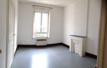 1 pièce - 35.64.  Appartement de 35m2 situé au premier étage d\'un immeuble rue Victor Prouvé. Il comprend une entrér, une cuisine, une chambre, une salle de bain, WC, débarras.<br> Chauffage individuel électrique.<br>