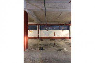 Veuillez contacter Mathieu Bossennec pour de plus amples informations : - T :  661 521 730 - E : mathieu.bossennec@remax.lu  RE/MAX, Spécialiste de l'immobilier à Luxembourg-Gare, vous propose ce parking de 10,125 m² à louer (450 x 225). Cet emplacement couvert se trouve à l'intérieur d'une résidence et le lieu est sécurisé par une porte automatique avec badge. Pour plus d'information, n'hésitez pas à nous contacter.  Frais d'agence RE/MAX : 125 % du montant du loyer à la charge du locataire + TVA