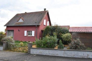 Pavillon individuelle 5 pièce(s) 119 m2 avec piscine. A vendre en exclusivité, secteur Diemerigen, proche Rohrbach, pavillon individuel de 2002 comprenant une cuisine ouverte sur le salon séjour et avec un accès à la terrasse couverte de 27 m².<br/>A l\'étage, 3 chambres et salle de bains.<br/>Les plus: au calme, vue dégagée et piscine à fond progressif, couverte, chauffée, beau terrain d\'agrément<br/>