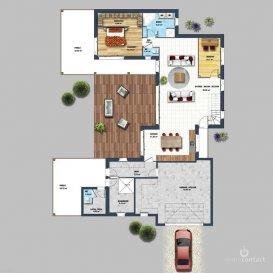 Charmante maison construite dans les années 90, libre des 3 côtés située sur le plateau de Hesperange.<br><br>Lumineuse et bien agencée, offrant :<br><br>Au rdch :<br>- Hall d\'entrée avec WC séparé<br>- Cuisine équipée séparée<br>- Living/salle à manger  avec accès sur la terrasse et vers le jardin orienté Ouest<br>- 2 Chambres à coucher<br>- 1 salle de bain avec fenêtre<br><br>Au 1er étage :<br>- Hall de nuit<br>- 2 chambres à coucher<br>- 2 bureaux<br>- 1 salle de douche<br><br>Sous-sol:<br>- Hall<br>- Garage pour 2 voitures<br>- Salle de douche<br>- Cave<br>- Buanderie    <br><br>Proche de toutes commodités, transport en commun, accès autoroutes, commerces, crèches, écoles, maisons relais, infrastructures sportives, proximité gare et centre de Luxembourg.<br><br>A découvrir rapidement.<br><br>Pour informations et photos, contactez-nous au 26.311.992.