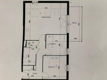PROGRAMME NEUF A HERSERANGE  Dans un environnement calme, proche commodités  Un appartement T3 de 68.35m² avec une place de parking se composant ainsi :  Au 1ier étage: entrée (9.22m²), 2 chambres (11.58m²/9.61m²), SDB (4.66m²), cuisine/séjour (31.97m²), w-c (1.31m²)  un balcon (9.84m²).  TVA 5.5% selon revenus  Livraison prévue au 4èmeTrimestre 2023.