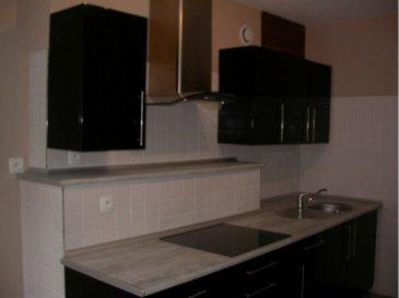 EN CENTRE VILLE . Prenez rendez-vous afin de découvrir ce bel appartement de 49 m2 comprenant :<br>une entrée, une salle de séjour, une cuisine aménagée et équipée (plaques de cuisson et hotte) séparée, 2 chambres, une salle d\'eau, wc.<br>Chauffage électrique - LIBRE AU 1er FEVRIER 2021