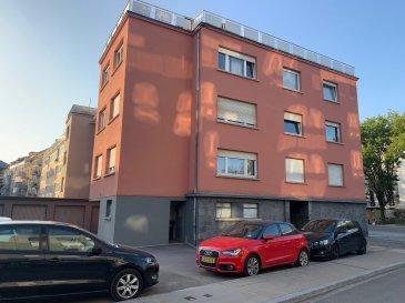 FIS Immobilière vous présente un Appartement située à MERL-LUXEMBOURG. Avec une surface de +/- 55 m2, 1 chambre a coucher, 1 livings,1 cuisine sépare, 1 garages et 2 emplacement ext, 1 salles de bain, Wc sépare et une cave.   !!!!!!!!!!!!!!!!!!!!!!!!!!!!!!!!!!Totalment a renové!!!!!!!!!!!!!!!!!!!!!!!!!!!!   N'hésitez pas à nous contacter pour toute question complémentaire +352 621 278 925