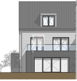 -- FR --  Niederanven, rue de Munsbach Maison unifamiliale jumelée, libre de 3 côtés. Terrain, 3;76 ares,  Surface nette habitable 267,6m2 Surface brute 361 m2, 4 chambres à coucher, bureau, garage. Au rez de chaussée : Entréé principale, vestiaire, débarras, WC séparé, hall d'escaliers, Cuisine, salle à manger,  séjour avec accès à la terrasse et jardin, garage. Premier étage : 3 chambres, 1 salle de douche, 1 salle de bains, hall d'escaliers Combles : Suite parentale avec dressing, salle de bains, bureau. Cave : Chaufferie, buanderie, cave. Très belles finitions prévues au cahier de charges, telles que fenêtres bois/alu et stores en alu, faïenceries V&B, quincailleries Hansgrohe ' etc' Situation :  Proche de l'aéroprt et du Kirchberg; Arrêt de bus tout proche (125); Ecoles, Pharmacies, Boulangeries et commerces divers ' Les travaux ont commencé et la livraison est prévue pour le automne 2020 Classe énergétique : A/A Prix: 1.272.400 ' sous réserve d'acceptation du taux de Tva super-réduit Pour toutes informations :  Tel :  352 277 50 40 Vente par AEXUS REAL ESTATE. Découvrez tous nos biens sur www.aexus.lu Aexus real estate est membre de la Chambre Immobilière du Grand-Duché de Luxembourg (seul organisme accrédité par l'état pour la certification des agents immobiliers) et travaillons dans le respect de leur code de déontologie, gage de qualité des services et de sériosité. Si vous souhaitez vendre ou louer votre bien, profitez-vous aussi de notre expérience et connaissance du marché à Luxembourg. Estimation rapide, gratuite et réaliste.  Ref agence :SolNiedC