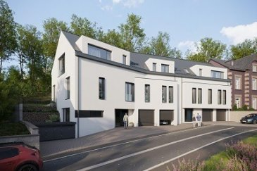 Future construction  Début 2022 Fin  2024 Appartement de 56,28 m2 au 2ème étage d'un bâtiment de 2 unités Living + Cuisine, Chambre à coucher, Salle de douche  A part: parking intérieur 80.000 €