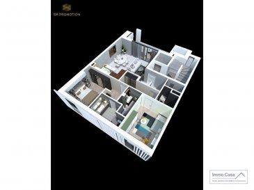 Immo Casa vous propose une nouvelle résidence située dans le quartier du Kiem à Luxembourg-Neudorf offrant des prestations de très haut standing.  Trois immeubles de 3 étages composé de 9 logements dont 3 penthouses.  Les appartements bénéficieront de 2 orientations ce qui permettra une luminosité optimale puisqu\'ils seront traversants.  Nous vous proposons par exemple ce logement comprenant une cuisine ouverte sur le salon donnant accès sur une terrasse (19m2), 2 chambres à coucher, deux salles de douche, un wc séparé, une cave et un jardin. La conception à l\'arrière du bâtiment permettra aux résidents d\'accéder à leur jardin privatif.  Les prix affichés avec la TVA de 3%  Possibilité d\'acquérir une place de stationnement intérieur à 55 000 € HTVA.  Pour d\'autres informations veuillez contacter l\'agence. Ref agence : 1906560