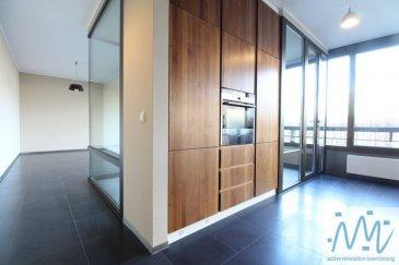 ''active relocation luxembourg'' vous propose à la location un superbe appartement situé au RDC d'une résidence récente rue Charles Bernhoeft.  Celui-ci comprend : Un hall d'entrée, une superbe cuisine équipée design en inox, un beau living aux larges baies vitrées permettant accès à la loggia, une chambre à coucher avec placard sur mesure et un deuxième chambre, une salle de bain avec WC et une salle de douche et WC. Une cave, un emplacement de parking intérieur et une buanderie commune complètent ce bien.  Loyer: 2.200€ Avances sur charges: 300€ Disponibilité: immédiatement  Centre commercial AUCHAN avec tous ces commerces et station de LUXTRAM à 3 min de marche, arrêt de bus à 100 m.  Luxembourg-Kirchberg, Centre commercial AUCHAN avec tous ces commerces, différents restaurants, Cinéma, Philharmonie, Coque, E&Y, BEI, Hôpital Kirchberg, proche de l'école européenne et toutes autres commodités à proximité immédiate.  Arrêts de Bus et LUXTRAM à proximité ainsi que l'aéroport FINDEL  Si vous pensez vendre ou louer votre bien, active relocation luxembourg est à votre service pour vous conseiller au mieux et vous faire profiter de toutes ses compétences en vue de commercialiser votre bien de manière professionnelle et rapide.  +352 270 485 005 ou +352 661 214 020 info@arlux.lu www.arluximmo.lu