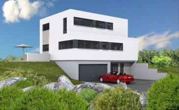 Schlüsselfertiges Haus der Energieklasse AAA auf Keller mit Grundstück  Lotissement Juncker Wiss à Rodenbourg  Grundstücksgröße: 6,90 ares (Commune Junglinster)  INKLUSIVE: + 4 Schlafzimmer, 180m² Wohnfläche + Fundamentplatte inkl. 140 mm Dämmung + Passiv-Plus-Wand 383mm, U-Wert = 0.10W + Luftwasserwärmepumpe oder Holzpelletheizung + Heizungsunterstützende Solaranlage 7,8m² inkl. 600 Ltr. Pufferspeicher, + Fußbodenheizung mit Einzelraumregelung, + Sole-Erdwärmetauscher, + Gäste WC, Bad + Maler Tapezierarbeiten + Doppelgarage + Bodenbeläge + Multimedia + Blower Door Test + Architektenleistung