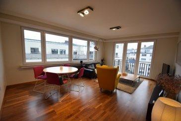 En Exclusivité ImmoHouse vous propose en location ce superbe appartement meublé situé proche des commodités à Luxembourg-Gare.  Au 5ème étage d'une résidence avec ascenseur ce charmant appartement de 64m² se compose de:  - Un grand hall d'entrée avec placard et rangement - Un superbe salon très lumineux - Une cuisine équipée séparée avec buanderie privative - Une grande chambre à coucher - Une belle salle de douche italienne avec wc - Une cave privative  Possibilité de louer un parking intérieur :150€/mois.  Informations: -Disponibilité : 01/03/2021 -garantie : 2 mois de caution -frais d'agence : 1mois plus TVA