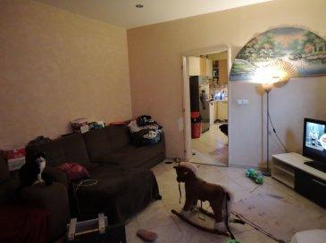 APPARTEMENT F3 A MARSPICH. Appartement F3 à MARSPICH au rez de chaussée composé d'une cuisine, d'un salon, 2 chambres, pièce chaufferie, salle de bain , 1 place privative, cave. Actuellement loué. Prévoir travaux