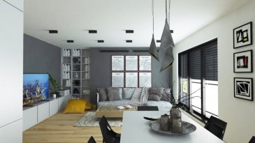 En vente deux nouvelles résidences.  Chaque résidence dispose de 3 appartements lumineux et un penthouse.  Vous pouvez dès maintenant réserver votre appartement de rêve dans une des deux résidences !  Caractéristiques de l'appartement:  - Appartement au 1er étage (3 chambres) à 111.36m2 avec deux balcons (ensemble 16.2m2)  Vente en futur état d'achèvement (VEFA)  Les deux résidences disposent d'un grand sous-sol commun, avec 12 emplacements, caves, buanderie commune, local à poubelles, local technique, local à vélos etc  Actuellement, il est encore possible de changer les dispositions des intérieurs des appartements, c'est-à-dire tailles des différents pièces ( living/ chambres/SBD/SDD) etc !!!  Les appartements/penthouses seront livrés 'clés en main'.  De nombreuses options et possibilités de personnalisation sont offertes pour chaque logement afin de permettre à chacun de définir l'ambiance, les couleurs ou encore les matériaux qui correspondent à ses envies.  L'ensemble de ces paramètres sont définis dans le cahier des charges de la construction, selon le type de logement envisagé.  Chaque lot dispose d'au moins une terrasse, d'un balcon et/ou d'un jardin privatif.  Spécifiés techniques :  - Ascenseur  - Ventilation contrôlée double flux  - Chauffage au sol  - Châssis PVC Triple vitrage  - Stores électriques  - Finitions haut de gamme  La résidence sera érigée près du Kräizbierg à Dudelange, à deux pas du centre-ville/école primaire/secondaire/centres commerciaux/parc Le'h et avec bon accès aux grands axes de circulation.  Des modifications et choix des matériaux sont possibles.  Acheter du neuf c'est avoir la garantie et la tranquillité pour des années.  Acheter dans une de ces deux résidences vous donne la possibilité d'intégrer vos idées/préférences dans votre futur logement !  Acheter directement au promoteur, c'est avoir des informations claires et la garantie du meilleur prix !   Les prix sont actuellement sur demande !  Trouvez toutes les informations prat