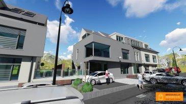 Nouvelle construction d\'une résidence avec 2 blocs nommés : ACORUS et ARALIA<br><br>APPARTEMENT 32, de 76,5 m2 + 85.87 m2 terrasse, situé au rez-de-chaussée :<br>Living/salle à manger, cuisine ouverte, 2 chambres à coucher, 1 salle de bain, dressing et terrasse de 85 m2 et cave.<br><br>Le prix TVA 3% pour résident est ca 497.948,-\'<br>Le prix TVA 17% pour investisseur est 535.084,-\'<br><br>1 emplacement intérieur à +/- 26.103,- \' TVA 3%<br>28.050,-\' TVA 17% <br>1 emplacement extérieur à +/-17.085,-\' TVA 3%<br>18.360,-\' TVA 17%<br><br>Le règlement de bâtisse impose 1 emplacement extérieur et 1 emplacement intérieur par unité<br><br>Situation : BLASCHETTE est situé dans la commune de LORENTZWEILER à 15 minutes de Luxembourg/Kirchberg.  Les constructions se composeront de 6 appartements, 2 Duplex, 2 Surfaces de bureau en PP énergétique A/B/A<br><br><br />Ref agence :13