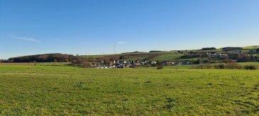 Grand terrain de 10 ares avec vue sur le campagne a vendre,terrain plat.