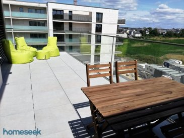 "***See English version below *** HOMESEEK Limpertsberg (contact direct +352 621 366 194) vous propose à la location û COURTE DUREE - 6 MOIS : un très bel appartement NEUF, TRES LUMINEUX, au CINQUIÈME ET DERNIER ÉTAGE, MEUBLE ET EQUIPE avec goût, 2 chambres, 1 terrasse de +/-18m2 à ciel ouvert et exposée sud-est avec vue sur le parc intérieur, libre de 2 côtés, dans une copropriété résidentielle au Ban de Gasperich. Charges mensuelles prévisionnelles : « tout inclus » !  Il est configuré comme suit : - 1 hall d'entrée, - 2 chambres à coucher (+/-15m2 et +/-13m2) dont une avec dressing, - 1 salle de bain avec baignoire/douche et lavabo, - 1 cuisine équipée (four électrique, frigo, compartiment congélateur, plaque vitrocéramique, lave-vaisselle),  - 1 très beau living (+/-28m2) très lumineux grâce à plusieurs grandes baies vitrées, à sa double exposition, accès sur la terrasse à ciel ouvert (+/-18m2) orientée sud-est, - 1 wc séparé,  - 1 cave, - 1 emplacement intérieur de stationnement, - 1 emplacement dans la buanderie commune équipé avec machine à laver le linge.  Caractéristiques techniques : carrelage au sol imitation parquet à grandes lames, triple vitrage, volets électriques, VMC, domotique, vidéo-parlophone, ascenseur, chauffage au sol, gaz de ville, CPE AAA.  Localisation parfaite au sud de la ville dans le tout nouveau quartier du Ban de Gasperich/Cloche d'Or, à côté du futur plus grand parc de la ville (15 hectares), du nouveau centre commercial « Cloche d'Or » (le plus grand du pays, Auchan), de Vauban (école et lycée français), de la zone d'activités (PWC, ING, Colruyt, Post, concessionnaires automobiles, magasins de bricolage, etcà), accès rapide aux autoroutes.  - Loyer mensuel : 2100€/mois, - Charges prévisionnelles « tout inclus avec l'électricité privative et le wifi» : 350€/mois, - Bail d'une durée de 6 mois, - Caution : 2 mois de loyer, - Frais d'agence : 1 mois de loyer + TVA (17%), - Disponibilité : mi-février  Pour davantage de renseignements, veuillez contacter Fabienne Toussaint au +352 621 366 194. Référence agence : 4921613-HL-PB/FT  ***English version*** HOMESEEK Limpertsberg is delighted to offer you for SHORT-TERM RENTAL û 6 MONTHS : a beautiful NEW, FURNISHED AND EQUIPPED with taste and FULL OF LIGHT apartment, on the 5TH AND LAST FLOOR, 2 bedrooms, 1 +/-18sqm open sky terrace, exposure south-east, view on the parc, detached apartment on 2 sides, in a residential condominium in Ban de Gasperich. ""All inclusive"" estimated monthly expenditures !  It is laid out as follows : - 1 entrance hall, - 2 bedrooms (+/-15sqm and +/-13sqm) of which one with dressing cabinet, -1 bathroom with bathtub/shower and basin, - 1 equipped kitchen (electric oven, fridge with a freezer compartment, cooker, dish-washer), - 1 great living (+/-28sqm) full of light thanks to several large bay windows, to a double exposure, access onto the +/-18sqm open sky terrace facing south-east, - 1 separate restroom, - 1 space in the common laundry room equipped with washing machine. - 1 cellar, - 1 inner parking space, Technical characteristics : wooden floor style tiles, triple glazed windows, electric blinds, controlled mechanical ventilation, electronic control of the apartment's systems, video-intercom, elevator, floor heating, town gas, AAA energy pass.  Perfect location in the southern part of the city in the new district of Ban de Gasperich/Cloche d'Or, close to the future biggest park of the city (15 hectares), to the new mall ""Cloche d'Or"" (biggest of the country, Auchan), to Vauban (French speaking campus), to the business area (PWC, ING, Colruyt, Post, car dealers, DIY stores, etcà),  quick access to motorways.  - Monthly rent : 2100€, - ""All inclusive (with electricity and wifi)"" estimated monthly expenditures : 350€, - Duration of lease : 6 month,  - Deposit : 2-month deposit, - Agency fee : 1-month rent + VAT (17%), - Availability : mid-february  For further information, please call Fabienne Toussaint +352 621 366 194. Agency reference : 4921613-HL-PB/FT  Ref agence :4921613-HL-PB/FT"