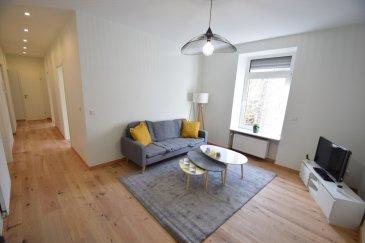 ---------SOUS COMPROMIS---------Exclusivité, ImmoHouse vous propose ce superbe appartement 3 chambres entièrement rénové situé proche des commodités et des transports à Differdange  Au 1er étage d'une copropriété de 4 unités ce bel appartement rénové se compose de :  -Un spacieux hall d'entrée -Un joli salon très lumineux  -Une cuisine équipée avec espace salle à manger -3 chambres à coucher -Une superbe salle de bain avec douche-baignoire-wc-fenêtre -Un wc séparé  A cela s'ajoutent: -Une belle terrasse à l'arrière -Une cave privative -Une buanderie privative  Informations complémentaires: -Façade de 2021 -Fenêtres en triple vitrage -Volets électriques  -Chaudière à gaz individuelle Buderus -Parquet massif -Nouvelle porte d'entrée-sonnette-boites aux lettres  Infos et visites sur rdv
