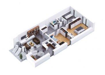 RCI - REFFAY Christophe Immobilien vous propose ici,    dans une résidence de 15 unités située à WILTZ, un appartement avec les caractéristiques suivantes :   - lot B02 - au RDC -  /- 81,71 m2 - 2 chambres - terrasse de  /- 8 m2 - 1 emplacement de parking sous-terrain - prix avec 17 % de TVA : 436.168,38 EUR  Pour tout renseignement, merci de contacter  RCI - REFFAY Christophe Immobilien au  691 661 661   --------------------  RCI - REFFAY Christophe Immobilien presents here,  in a residence of 15 units located in WILTZ, an apartment with the following characteristics:  - lot B02 - on the ground floor -  /- 81.71 m2 - 2 bedrooms - terrace of  /- 8 m2 - 1 underground parking space - price with 17% VAT: 436.168,38 EUR  For any information, please contact RCI - REFFAY Christophe Immobilien at 691 661 661 Ref agence :V_2019_12_B02