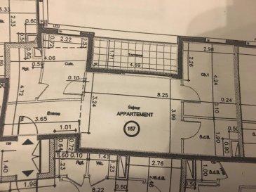 Belardimmo vous propose un super appartement de +/- 64m² à vendre avec situation privilégié au centre de Mondorf les bains. L\'appartement se situe au 2 étage dans la résidence domaine du brill avec ascenseur. <br>Cet appartement est réservé aux personnes de + 55 ans, dispose de la dernière technologie architecturale pour aide à la personne. ( Avec ses portes automatiques et d\'un concierge qui veille sur le bon fonctionnement de cette résidence). <br><br>Il se compose ainsi: <br>- Hall d\'entrée<br>- Cuisine équipée fermée<br>- Debarras<br>- Séjour avec accès terrasse 8m² ( possibilité de la fermer pour l\'hiver en glissant ses vitres)<br>- 1 Chambre à coucher<br>- Salle de bain avec douche<br>- Cave<br><br>Possibilité d\'acquérir un emplacement couvert en sous sol.<br>Pour plus d\'informations contactez-nous au 26 54 31 48.<br><br />Ref agence :JP131