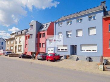 Bel appartement rénové  de 56 m2 à louer sis à Bivange<br><br>Description:<br><br>- 56 m2<br>- 3 étage<br>- Hall d\'entrée<br>- Salon <br>- Nouvelle cuisine<br>- 2 chambres à coucher  <br>- Salle de bain avec baignoire et douche<br>- Emplacement extérieur<br>- Grenier<br>- Jardin privatif<br><br><br>L\'appartement est disponible pour tout de suite<br><br>Loyer : 1180 \'<br>Charges : 20 \' (chauffage individuel, les frais du gaz , eau et poubelles ne sont pas inclues dans les charges)<br>Caution : 3600 \' (3 mois)<br>Frais d\'agence : 1380,60 \' TTC 17%<br />Ref agence :1213172