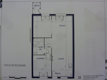 A Piedmont (Mont-Saint-Martin), dans un environnement calme, Nouveau lotissement, proche commodités, Maison Mitoyenne de plain pied avec 2 places de parking, cuisine ouverte sur séjour (48.30m²), 1 chambre (11.20m²), SDB avec w-c (5.20m²), dégagement (1.50m²),  sur 2.54 ares de terrain. Livraison prévue au 1er Trimestre 2022.