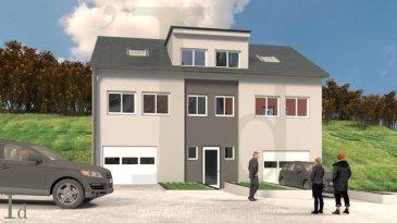 Damm-promo-lux vous propose en état futur d'achèvement livré clé en mains une maison bi familiale   Lien maison 3D https://bimx.graphisoft.com/model/956d394c-5a33-43f6-bcf0-c76dfe5f634c  Chaque appartement possède une surface habitable de +-140 m2, avec une entrée commune donnant donnant sur :  Lot A - Gauche Au RDC : garage 2 voitures, 1 emplacement extérieur, buanderie, cave et local technique  Au 1er : cuisine ouverte séjour/salon de 81,25 m² avec accès sur une terrasse de +/- 20m2 - jardin séparée par une palissade, un WC séparé  Au 2éme :un hall de nuit desservant 1 salle de bains de 6 m² et 3 chambres, ainsi que l'accès à un balcon de 12 m²   Lot B - Droit Au RDC : garage 2 voitures, 1 emplacement extérieur, buanderie, cave et local technique  Au 1er : cuisine ouverte séjour/salon de  82,20m² avec accès sur une terrasse  de +/- 20m2 - jardin séparée par une palissade, un WC séparé  Au 2éme :un hall de nuit desservant 1 salle de bains de 6 m² et 3 chambres, ainsi que l'accès à un balcon de 12 m²   La maison offre des belles finitions et des prestations haut de gamme. Les plans et cahier des charges sont consultables à l'agence.