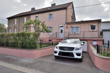 BELARDIMMO vous propose en exclusivité ce beau bien à Boulange .<br><br>Coup de c½ur pour cette jolie maison avec sa petite ambiance douillette .<br><br>Celle ci ce compose : <br><br> Niveau -1  55 m² : <br><br>- Cave <br>- Chaufferie + cuve mazout<br>- Point d\'eau et évier<br>- Garage <br><br>Rez de chaussée 50 m²  : <br><br>- Salle de bain<br>- Cuisine fermée <br>- Salle à manger<br>- Séjour<br> <br>1 er étage 29 m² : <br><br>- Hall<br>- Chambre 10 m²<br>- Chambre 15 m² <br><br>Sous combles : <br><br>- Chambre 14 m²<br>- Bureau 6 m²<br>- Grenier 8 m² <br><br>Cette maison possède un garage en sous-sol.<br><br>Pour toutes informations ou une éventuelle visite veuillez contacter M. PACI JOEL au + 352 661 57 25 02 <br><br><br>