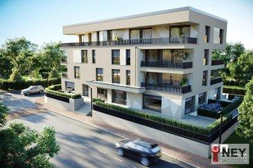 NEY immobilière vous propose l\'appartement 0-01 dans la nouvelle résidence « MANDARIN »  (11 appartements et 3 bureaux) à Luxembourg-BERTRANGE, rue des Celtes.<br><br>L\'appartement (0-01) est au rez-de-chaussée et se compose comme suit: grand séjour/cuisine,<br>2 chambres à coucher, 1 salle de bain avec toilette, WC séparé, débarras, grande terrasse de 15 m2, jardin privatif de 58 m2, cave, et un emplacement intérieur pour voiture<br><br>Les prix affichés s\'entendent TVA 3% <br><br>Contact: contact@neyimmo.lu ou +352691515723