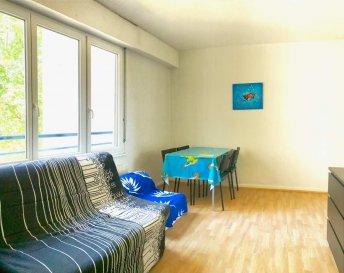 Esplanade - proche campus Au 1er étage, beau  1 pièce comprenant : Entrée, séjour/chambre, salle de bains avec wc, cuisine équipée kitchenette.