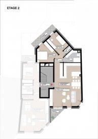 Appartement à vendre à Dudelange    ** Sous compromis **  Résidence SILVA en future construction au Centre Ville de Dudelange, comprenant 8 appartements et un commerce au rez-de-chausée. L'appartement au 2°étage, d'une surface habitable de 85.33m2, se compose comme de suit : - Hall d'entrée  - Cuisine ouvert sur le séjour ( 44.74m2 ) donnant accès au balcon de   4.09m2 - Hall de nuit - 1 Salle de bain ( 6.75m2 ) -  WC sépare  - 1 chambre à coucher de 10.04m2 - 1 chambre à coucher de 12.44m2 * Les 2 chambres avec accès au balcon de 7.09m2 ( exposition Sud )  *Excellent emplacement tout comme la construction et la conception architecturale, finitions de haut qualité. *L'appartement sera livrée clé en main   Le prix annoncé inclus la TVA 3%  Pour plus des renseignements contacter : Acacio Da Silva : 621 195861
