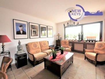 DISPONIBLE DE SUITE  New Keys vous propose ce grand appartement 3 chambres au 1er étage d'une petite copropriété de seulement 3 unités dans la commune de Mondercange.  Le bien se présente de la manière suivante:  -Grand hall d'entrée, -Espace living/salle à manger lumineux, -Cuisine équipée séparée avec un accès à un balcon d'environ 7m2, -3 chambres à coucher (environ 11,70 m2, 12,48m2, 14,43m2), -Salle de bain avec toilettes et évacuation pour la machine à laver, -Toilettes séparés  Pour compléter ce bien vous profiterez d'une cave privative avec branchement pour machine à laver ainsi que d'un garage privatif (possibilité de faire un garage pour deux voitures).  N'hésitez pas à nous contacter au 352 691 216 830 ou par mail smarrocco@newkeys.lu pour plus d'informations et/ou une éventuelle visite.    COVID: Pour votre sécurité, nos visites sont effectuées avec des masques, des gants et limitées à 3 personnes par visite.  Les prix s'entendent frais d'agence inclus dans le prix et payable par le vendeur.  Nous recherchons en permanence pour la vente et pour la location, des appartements, maisons, terrains à bâtir pour notre clientèle déjà existante. N'hésitez pas à nous contacter si vous avez un bien pour la vente ou la location. Estimation gratuite.