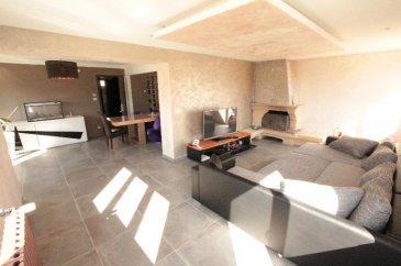 Superbe maison individuelle F5 entièrement rénovée, située à Briey&period;<br />Composée d\'une entrée véranda, hall spacieux, salon-séjour 51m² avec cheminée, cuisine indépendante équipée et décoration murale à finir, salle d\'eau , wc &plus; lave mains&period;<br /><br />A l\'étage 3 chambres de 11|13 et 15m², salle d\'eau &plus; 2ème wc&period;<br /><br />Sous-sol complet, GARAGE  &plus; atelier&period;<br />Jardin clos arboré&period;<br /><br />Electricité neuf<br />Chauffage Gaz condensation Buderus<br />Double vitrage Pvc motorisé<br />Cuisine équipée neuve<br />Maison entièrement carrelée<br /><br />Le DPE ne tient pas compte des nouvelles améliorations&period;<br />Contact| 0698009033