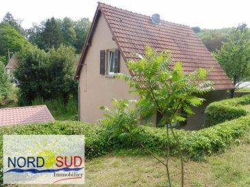 Axe BITCHE- NIEDERBRONN LES BAINS<br /><br />Habitation d\'environ 70 m² situé au calme, composée de deux chambres, cuisine, séjour, salle de bain, garage&period;<br />Le tout sur un terrain de 12&period;5 ares&period;<br /><br />DPE en cours<br /><br />Contact Nord sud immobilier<br />Rohrbach les Bitche 03 87 96 33 84<br />Sarreguemines 03 87 02 83 36<br />Bitche 03 87 27 01 80