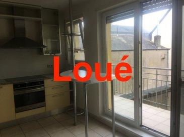 L'agence Immo Camilo  a le plaisir de vous proposer un appartement au 1er étage en location avec 2 chambres à Niederkorn LOUÉ LOUÉ LOUÉ LOUÉ LOUÉ LOUÉ LOUÉ LOUÉ  L'appartement est composé comme suit : Hall d'entrée, living salle à manger avec cuisine équipée ouverte, une salle de bain avec lavabo et WC, balcon, cave,  un emplacement voiture à l'intérieur, buanderie. Toutes les fenêtres sont en double vitrage.  Loyer : 1.200 euros Avance sur les charges : 200 euros Caution : 2 mois Frais d'agence : 1 mois de loyer + 17% TVA   Disponibilité: immédiate Avantages:  - Rue calme - A proximité: école, crèche, commerce, transports.  N'hésitez pas à nous contacter pour la mise en vente de votre bien immobilier. Pour plus de renseignements, veuillez contacter Mme. TEIXEIRA au GSM : +352 621 259 311