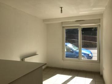 Coquet F1, en rdc , avec une belle pièce à vivre, coin cuisine équipée avec bar, une salle d'eau avec wc, libre de suite