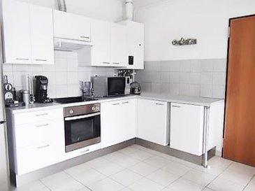 Gentile Immobilière vous propose ce bel appartement au 2 étage de 75 m2 situé à Talange en France.<br><br>L`appartement se compose de 3 pièces parfait pour un couple. Il est pourvu de 2 chambres et d`une cuisine équipée. Il est aussi doté d`une salle de bains avec baignoire et dispose d`un garage.<br><br>De plus, vous pourrez profiter d`une terrasse ! Parmi les autres plus de cet appartement, il comptabilise également une cave, idéal pour entreposer les affaires dont vous n`avez pas besoin ! Le logement est en bon état. Un chauffage individuel est en place. Il fonctionne au gaz.<br><br>Si vous souhaitez visiter ce bien ou pour plus d\'informations, veuillez-nous contacter au 28 79 09 09 ou par email : info@gentileimmobiliere.lu<br />Ref agence :23