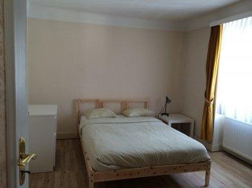 A louer à Luxembourg Belair, en court terme, une chambre meublée en colocation. Les charges sont comprises dans le loyer, wifi également.  Disponible au 1 mars. Caution de deux mois.