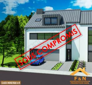 ***** SMART HOUSE SYSTEM (DOMOTIQUE) *****  F&N Promotion vous propose une nouvelle maison, situé à Reuland, construite dans un style moderne, avec une surface habitable de +-250m2 - 5 min du Junglinster, 15 min du Kirchberg – Luxembourg. (Classe énergétique A/B)  Reuland (commune Heffingen) dispose de toutes les infrastructures nécessaires (crèche, école, foyer de jour, etc.), à proximité de la ville Junglinster, ou vous trouverez toutes commodités nécessaires.  La maison comprend également un