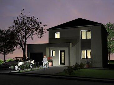 MODELLE HOSTA Nous vous proposons une maison à étage dans un lotissement au grand calme. Elle est composée au RDC d'un salon séjour ouvert sur la cuisine. De cette dernière vous communiquez avec un cellier et le garage. A l'étage vous retrouvez trois chambres et une salle de bains. Cette maison à toit 4 pans est modifiable selon vos souhaits. Vous pouvez construire cette maison en toit 2 pans classique ou en toiture terrasse selon votre préférence. Tous nos modèles de maison sont adaptables selon votre mode de vie et vos habitudes