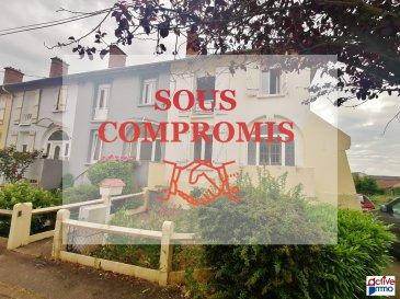 Maison Fameck 4 pièce(s) 81 m2. En Exclusivité ! A RÉNOVER !<br/><br/>Sur la commune de Fameck, cité Bosment, mieux qu\'un appartement devenez propriétaire d\'une maison jumelée d\'un coté d\'environ 81m² habitable et un jardinet de 61m², le tout à rénover.<br/><br/>La maison se compose au rez de chaussé surélevé d\'1 entrée, de 2 pièces de 13,30m² et 13,80m², d\'un espace cuisine de prés de 7m².<br/>A l\'étage vous y trouverez 3 chambres de 12m², 15m² et de 8m² et d\'un espace salle de bain de 4m².<br/>Au sous-sol , 3 caves dont une donnant accès à une cour pouvant être agencée comme une terrasse et donnant accès à la parcelle de jardin.<br/><br/>Beaucoup de possibilités s\'offrent à vous, une rénovation intérieur étant nécessaire, vous pourrez la mettre à votre gout et besoins.<br/><br/>DV PVC <br/>Volets roulant PVC + Battant Bois<br/>Chaudière GAZ<br/>DALLE BÉTON<br/><br/>Frais d\'Agence à charge Acquéreurs<br/>Pour plus de renseignements :<br/>Marie PETITFRERE : 06 95 67 68 76 dont 5.83 % honoraires TTC à la charge de l\'acquéreur.