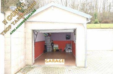 L'agence IMMOLORENA de Pétange a choisi pour vous un GARAGE BOX FERME  à vendre pour une voiture au prix de 45.000 euros.  Pour tout contact: Joanna Corvina +352 621 36 56 40 (FR) Vitor Pires: +352 691 761 110 (PT, IT, UK, FR)   L'agence ImmoLorena est à votre disposition pour toutes vos recherches ainsi que pour vos transactions LOCATIONS ET VENTES au Luxembourg, en France et en Belgique. Nous sommes également ouverts les samedis de 10h à 19h sans interruption.