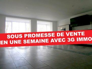 SOUS PROMESSE DE VENTE AVEC 3G IMMO   A Longwy-Haut, à deux pas de la place Darche et de toutes les commodités, avec une vue directe et dégagée sur les Remparts de Longwy-Haut (classés Unesco), venez découvrir cet appartement 1 chambre et 1 bureau rénové complètement en 2018 / 2019.  Situé au deuxième étage d'une petite copropriété de 8 lots, d'une surface habitable d'environ 73m² et composé comme suit : cuisine full équipée (lave-vaisselle, four pyrolyse, plaque induction, hotte) ouverte sur une pièce de vie de 51m² avec baie vitrée donnant sur les Remparts et une rue au calme, 1 chambre (10,2m²), un espace bureau ou dressing, une salle de bain (carrelage intégral, meuble vasque, baignoire et WC suspendu).   1 cave et une place de parking privée sécurisée.  Equipements de qualité : plomberie et  sanitaire Grohé et Villeroy et Boch, chauffage électrique Atlantic Digital II avec gestionnaire d'énergie pilotable par smartphone, installation électrique Haeger et Legrand, visiophone, dalles béton, spots intégrés, double vitrage PVC, compteurs eau et électricité séparés.  Numéro de lot : 03, nombre de lots total : 8.  Coup de cœur assuré !   Le prix inclut nos honoraires Pour tous renseignements : Grégory Lambermont : 06.42.85.79.02  François Lambermont : 06.23.51.05.74  www.lambermont-immo.com  www.3gimmobilier.com/lambermont  Mandataires indépendants du réseau 3G Immo Consultant immatriculés au RSAC de Briey N°524 212 917 et N°791 005 580