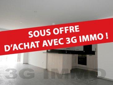 SOUS OFFRE D'ACHAT AVEC 3G IMMO   A Longwy-Haut, à deux pas de la place Darche et de toutes les commodités, avec une vue directe et dégagée sur les Remparts de Longwy-Haut (classés Unesco), venez découvrir cet appartement 1 chambre et 1 bureau rénové complètement en 2018 / 2019.  Situé au deuxième étage d'une petite copropriété de 8 lots, d'une surface habitable d'environ 73m² et composé comme suit : cuisine full équipée (lave-vaisselle, four pyrolyse, plaque induction, hotte) ouverte sur une pièce de vie de 51m² avec baie vitrée donnant sur les Remparts et une rue au calme, 1 chambre (10,2m²), un espace bureau ou dressing, une salle de bain (carrelage intégral, meuble vasque, baignoire et WC suspendu).   1 cave et une place de parking privée sécurisée.  Equipements de qualité : plomberie et  sanitaire Grohé et Villeroy et Boch, chauffage électrique Atlantic Digital II avec gestionnaire d'énergie pilotable par smartphone, installation électrique Haeger et Legrand, visiophone, dalles béton, spots intégrés, double vitrage PVC, compteurs eau et électricité séparés.  Numéro de lot : 03, nombre de lots total : 8.  Coup de cœur assuré !   Le prix inclut nos honoraires Pour tous renseignements : Grégory Lambermont : 06.42.85.79.02  François Lambermont : 06.23.51.05.74  www.lambermont-immo.com  www.3gimmobilier.com/lambermont  Mandataires indépendants du réseau 3G Immo Consultant immatriculés au RSAC de Briey N°524 212 917 et N°791 005 580