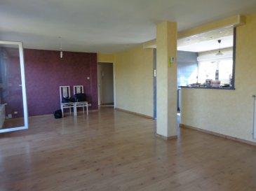 Appartement  4 pièce(s) 88.74 m2. Cet appartement lumineux situé au 99 C rue Pierre Mendès France à MARSPICH se compose d\'une entrée de 2,45 m², un salon séjour de 29,59 m² , une cuisine ouverte sur le séjour de 11,87 m², un bureau de 8,29 m², deux chambres de 10,31 m² et 15,11 m², une salle de douche de 8,39 m²  comprenant  un WC, une grande douche ainsi qu\'une chaufferie.<br/><br/>Charges d\'environ 62,50€ / mois comprenant l\'entretien des espaces verts, l\'électricité et le nettoyage des communs, les ordures ménagères, les frais de syndic et l\'assurance du bâtiment.<br/>Chaudière DIETRICH.<br/>Parking collectif appartenant à la copropriété.<br/><br/>IMMO DM:<br/>03.82.57.31.87<br/>Copropriété de 83 lots (Pas de procédure en cours).<br/>Charges annuelles : 750.00 euros.