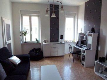 Nous vendons au 14, rue de Castelnau à NILVANGE  Un appartement entièrement rénové de type F3 situé au second et dernier étage d'un immeuble sans ascenseur.  Il offre sur une surface de 60.96 m² -Un séjour de 15, 43m² -Une cuisine de 11.18m² -Deux chambres de 11.71m² et 11.63m² cette dernière avec placard -Une loggia très lumineuse de 7.01m² -Une salle d'eau avec WC de 3.28m² -Un rangement de 0.72m² -Une cave   ** Fenêtres double vitrage PVC OB ** Chauffage électrique par convecteurs dernière génération.  ** Charges mensuelles de 33.20€ ** Taxe foncière de 397€ *** Un garage privatif fermé  LIBRE DE SUITE  CONTACT :  ABEL IMMOBILIER au 03.87.36.12.24 ou directement le commercial Alain SCHERRER au 06.98.51.94.33  Les frais d\'agence de 4,49 % sont inclus dans le prix annoncé