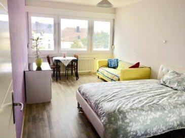 Immo Nordstrooss vous propose ce spacieux appartement de /- 103,21m² dans une résidence bien entretenue en Centre de Esch idéalement situé à proximité des transports (Gare, Bus), école, commerces, banques et crèches.<br><br>Celui-ci se compose comme suit :<br>- Hall d\'entrée,<br>- salon et salle à manger avec sortie vers une terrasse <br>- cuisine équipée,<br>- 1 salle de bain,<br>- 2 chambre à coucher.<br><br>Un garage, une cave, buanderie commune, local vélo complètent ce bien.<br><br>Pour plus de renseignements ou une visite (visites également possibles le samedi sur rdv), veuillez contacter le 691 850 805.