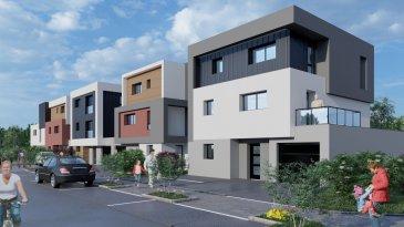 Programme de 5 maisons de ville exposées plein sud avec des prestations de qualité dans un secteur résidentiel à 10 minutes du centre ville, proche des écoles, des axes routiers et de nombreux commerces. Profitez d'un environnement paisible au coeur de la ville.